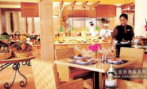 海南海口皇冠滨海温泉酒店-餐厅-咖啡厅