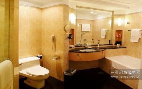 文华大酒店-高级客房-卫生间